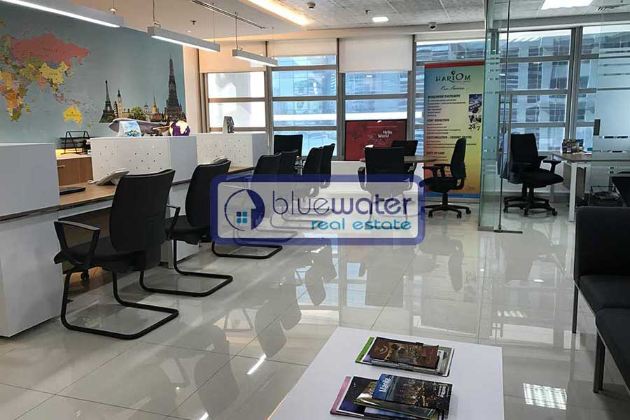 Office Space For Rent in Silver Tower Business Bay - Blue Water Real ...